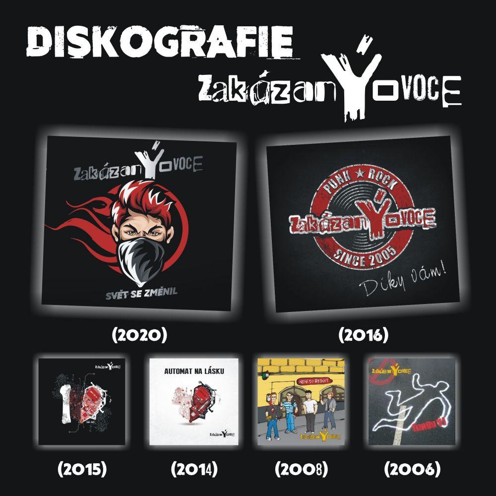 Diskografie zakázanÝovoce - 6 CD