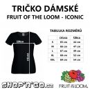 Tričko dámské Fruity - zakázanÝovoce