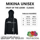 Mikina unisex černá - From